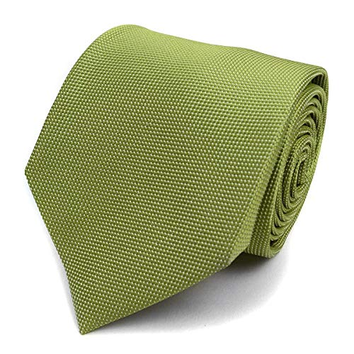 Mini Dotted Micro Fiber Poly Tie (Lime)