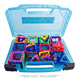 Life Made Better Magformers Case, Toy Storage Carrying Box. Figures Playset Organizer. Accessories For Kids by LMB