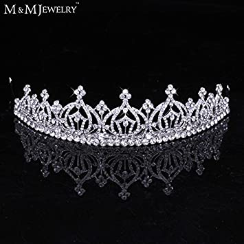 Amazon Com Pure Crystal Whit K Gold Plated Bridal Hair Accessories