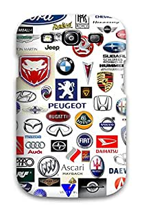 7480141K63436923 New Galaxy S3 Case Cover Casing(logo)