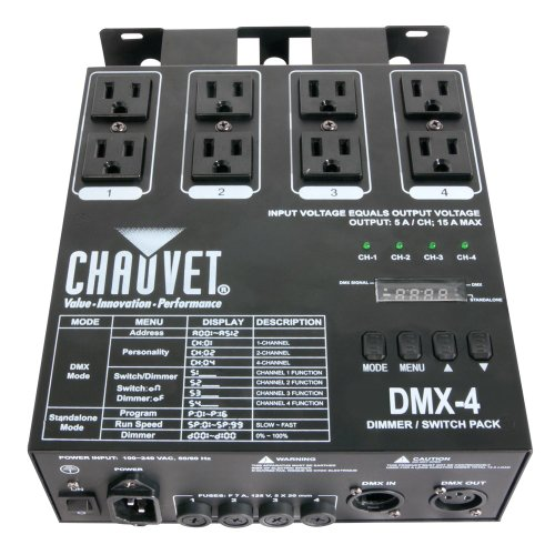 CHAUVET DJ DMX 4 Dimmer Relay