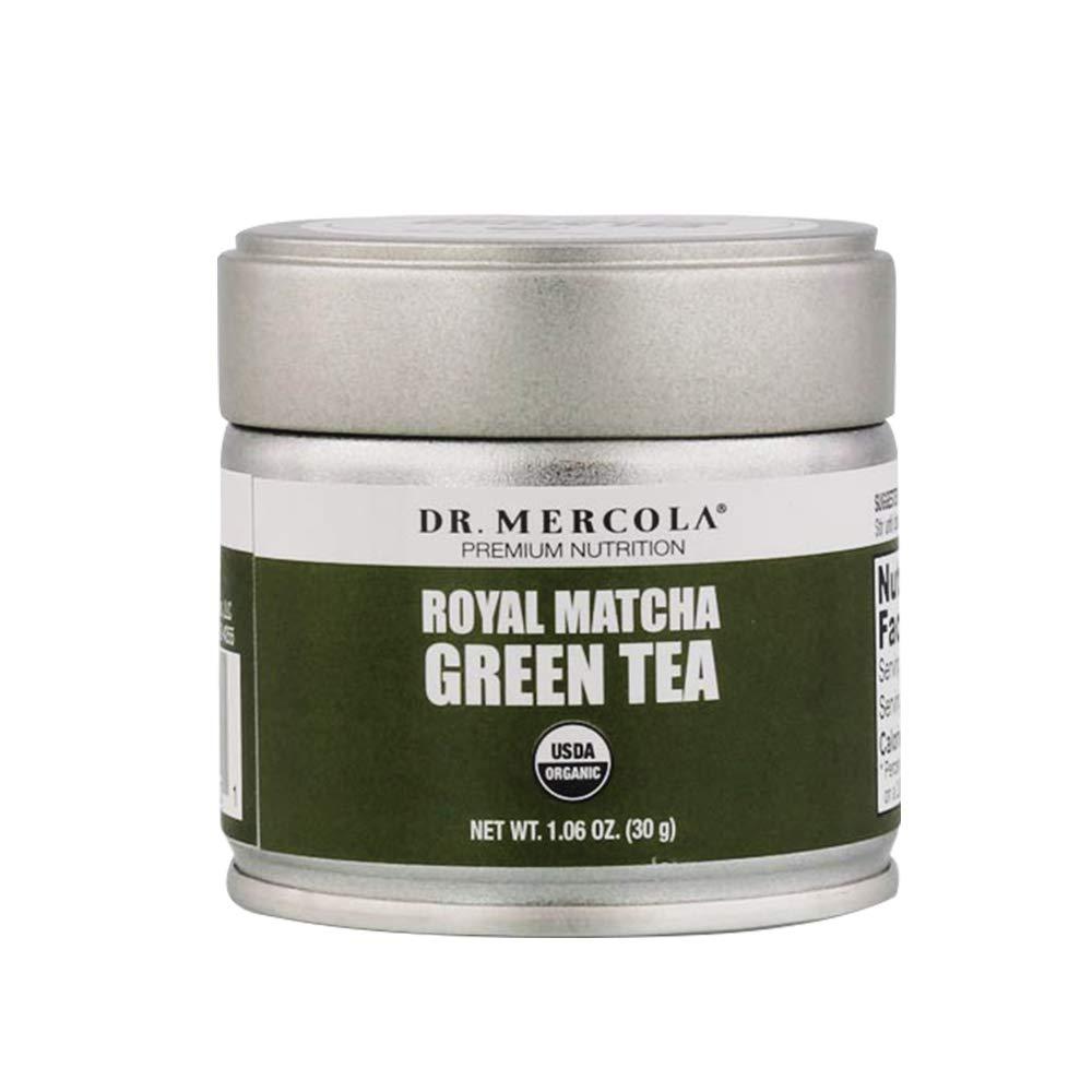 Dr. Mercola Royal Matcha Green Tea Powder - 30 Servings