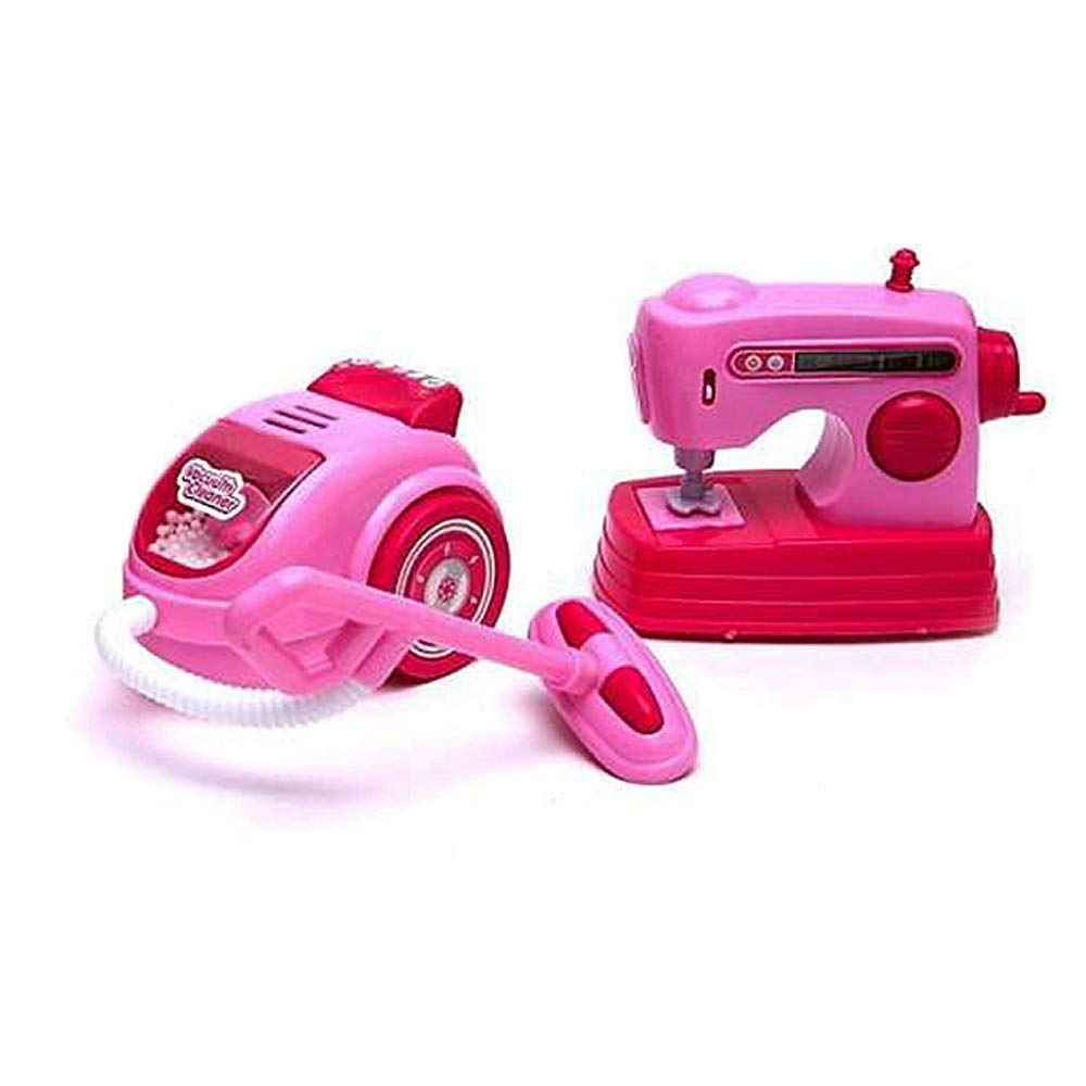 Toysery Mini Household Appliances Toy Set Material | Equipped with Lights | Easy to Play | Promote Creativity and Learning Skills of Kids | Battery Operated | Dream Gift for Girls by Toysery (Image #3)