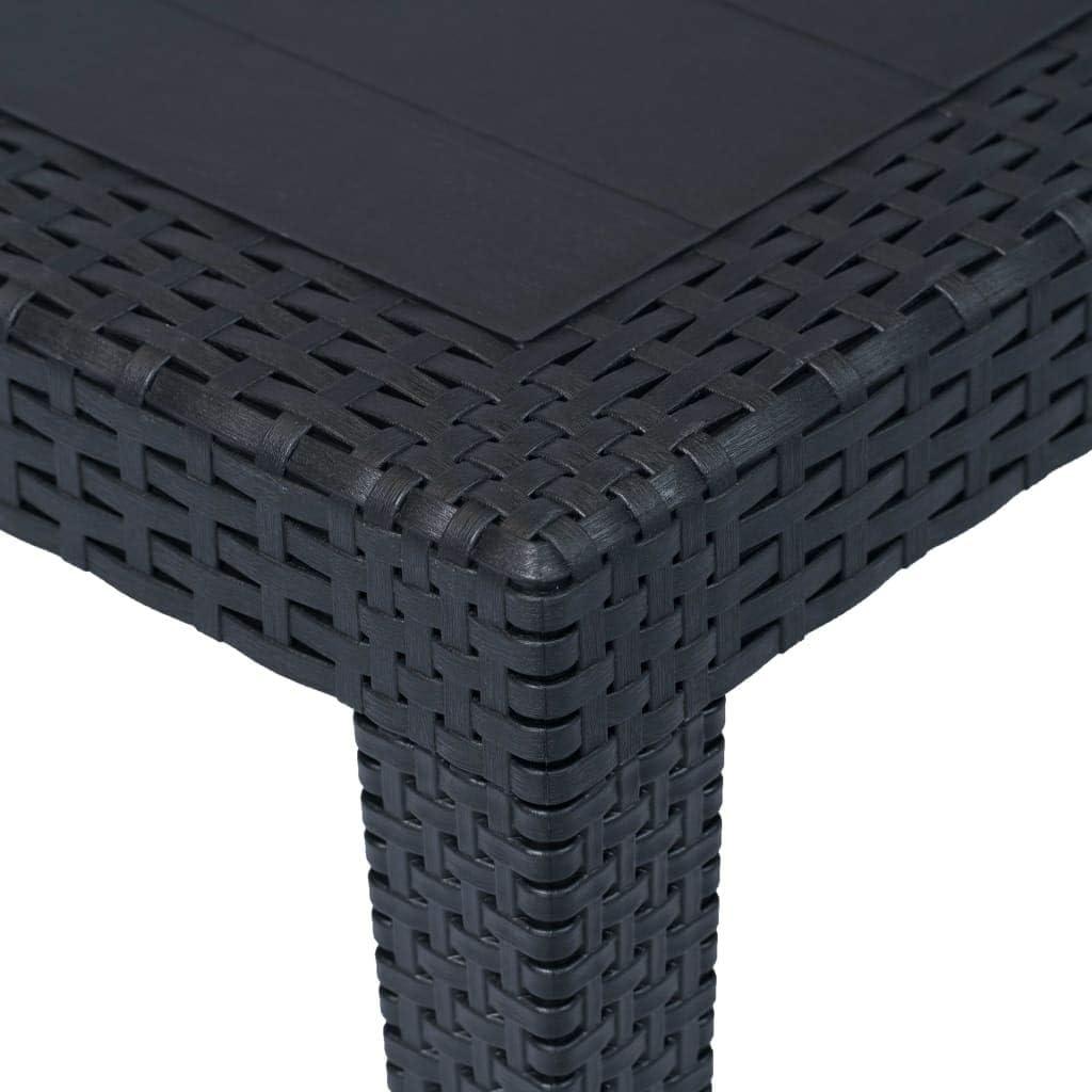 Tisch Gartentisch Campingtisch Garten Balkontisch Kunststoff 150x90x72cm 2 Wahl