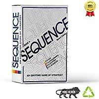 Kids Mandi™️ Make A Sequence Board Game | Family Card Game for Adults Kids Sequence Game