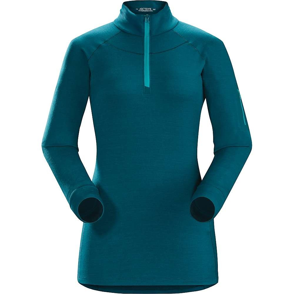 Arcteryx Satoro AR Zip Neck LS Top - Women's Oceanus Medium
