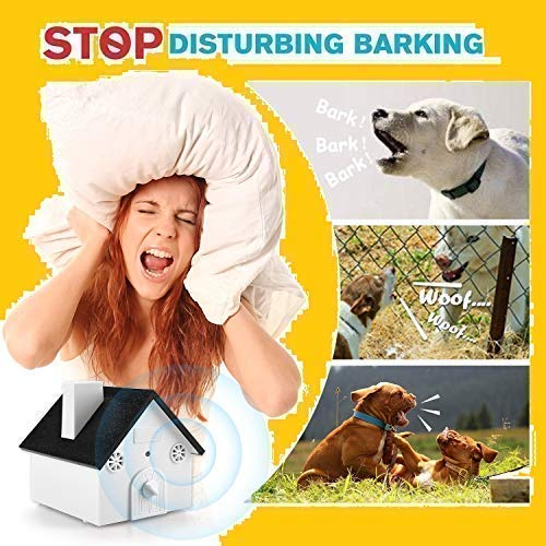 Pet & Pat Ultrasonic Anti Barking Device Indoor/Outdoor Bark Controller Dog Barking Deterrents Value Pack Clicker + Sonic Whistle Stop Neighbor's Dog from Barking No Harm to Pets Birdhouse Red/Black