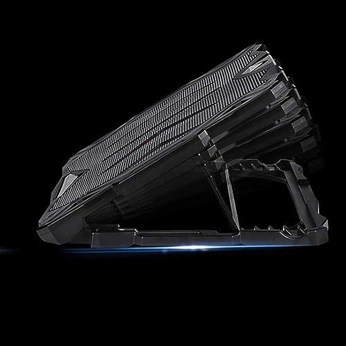 KUANDARGG Laptop r Base Gaming Notebook Stummschaltung Ausenstander Abluftventilator