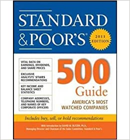Book Standard & Poor's 500 Guide 2011 (Standard & Poor's 500 Guide)- Common