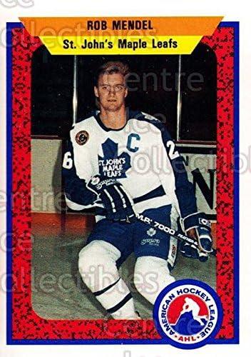 Rob Mendel Hockey Card 1991-92 ProCards AHL IHL 335 Rob Mendel CI