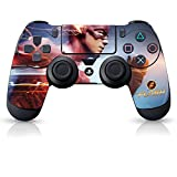 Cheap Controller Gear The Flash Electric Blue – PS4 Controller Skin – Officially Licensed by PlayStation