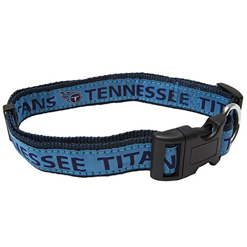 Pets First NFL Tennessee Titans Pet Collar, Medium