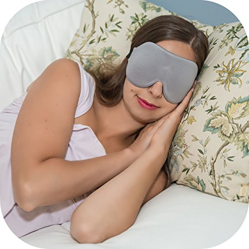UPC 806802197227, ComfyMed® Sleep Mask CM-EM17 - Best Night and Travel 3D Eye Mask for Men and Women