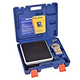 Goplus 220lbs Electronic Refrigerant Charging Scale Digital For HVAC w/ Case offers