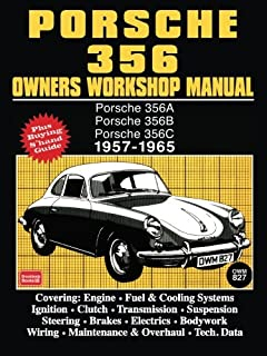 porsche 356 owners workshop manual 1948 1965 floyd clymer rh amazon com