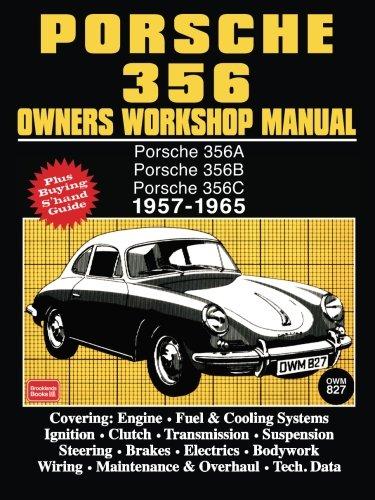 Porsche 356 Owners Workshop Manual 1957 1965  Brooklands Books