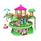 Lil Woodzeez Family Treehouse 22 Piece Treehouse