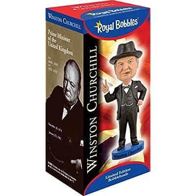 Royal Bobbles Winston Churchill V2 Bobblehead: Toys & Games