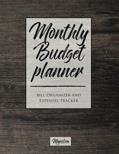 Cheap  My Home Budget Planner: Monthy Bill Organizer & Expense Tracker Book, Modern..