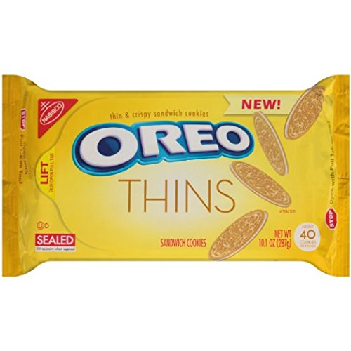 Oreo Thins Golden Sandwich Cookies product image