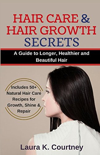 Hair Care and Hair Growth Secrets: A Guide to Longer, Healthier and Beautiful Hair - Includes 50+ Natural Hair Care Recipes for Growth, Shine & Repair (Organic Shampoo Recipes, Hair Loss Treatment)
