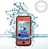 Bessmate™ 2 Meters Underwater Waterproof Dirtproof Snowproof Shockproof Skin Hard Phone Shell Rugged Protection Case Apple iPhone 5c (Orange)