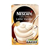 Nescafé Café Menu Vanilla Latte 18.5 g (Pack of 6, Total 48 Units)