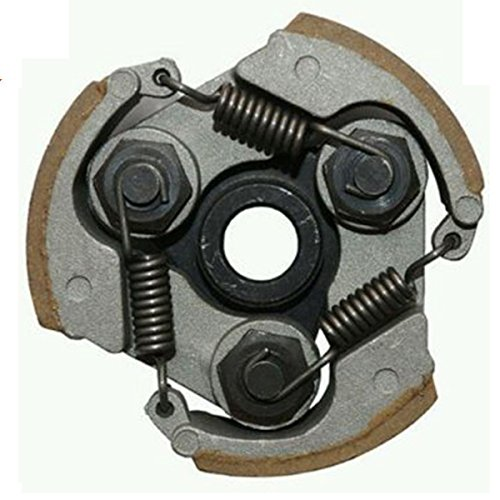 Moto Clutch (2 Stroke 43cc 47cc 49cc Centrifugal Clutch alloy fits Mini Moto Dirt Bike Atv Quad 3 Shoe Spring)