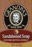 Grandpa's Sandalwood Bar Soap with Shea Butter