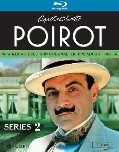 Agatha Christie S Poirot Series 2 Blu Ray David Suchet Hugh Fraser Philip Jackson Pauline Moran Movies Tv