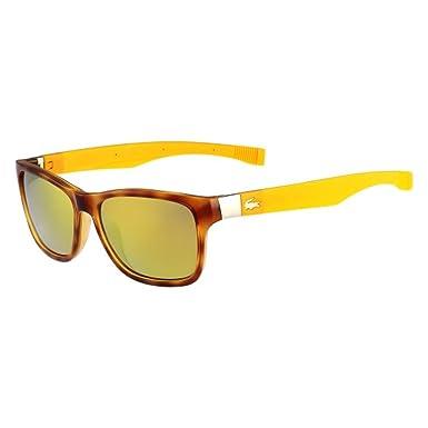 8c085239877e LACOSTE L737S Sunglasses 218 Blonde Havana 55-16-140  Amazon.co.uk  Clothing