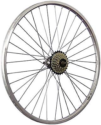 Taylor-Wheels 26 Pulgadas Rueda Trasera Bici piñón Rueda Libre 7 ...