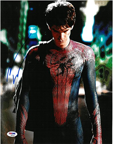Andrew Garfield Signed The Amazing Spider-Man Auto 11x14 Photo PSA/DNA #AB92540