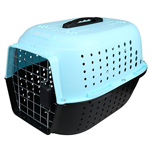 MagicCindy Dog Cat Pet Carrier Airline Approved Travel Crate 19x12.6x11.6 Inches Kennel