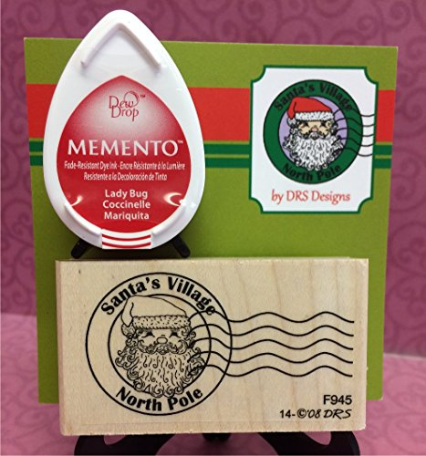 North Pole Postmark Rubber Stamp Set by DRS Designs - North Pole Rubber