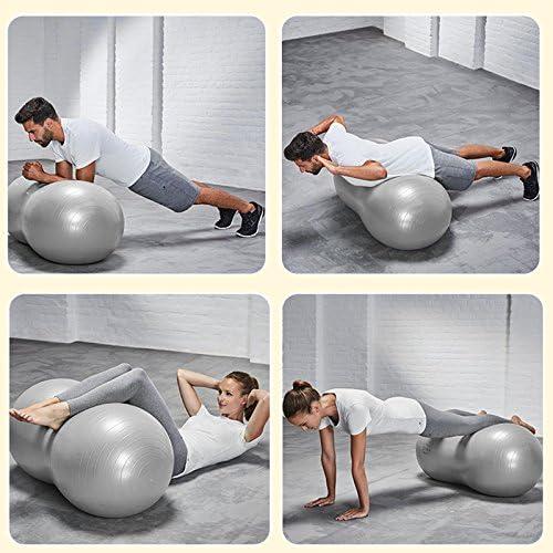 Noblik Yoga liefert explosionssichere Yoga Erdnuss Ball Fitness Rehabilitation Physiotherapie Ball-Lila