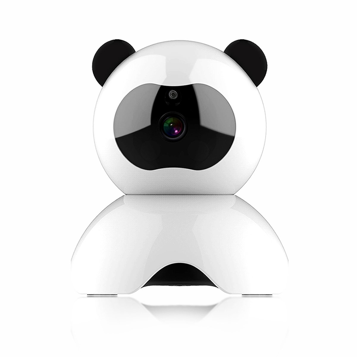CARMATE Smart Wireless IP Security Surveillance System 720p HD with 2 Way Audio and Night Vision Baby Monitor, Nanny Camera