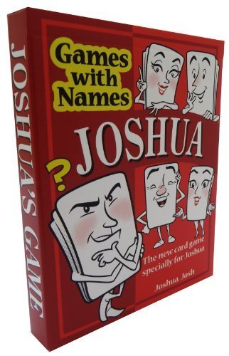 JOSHUA'S GAME: Especially for People Called Joshua or Josh! Ideal As a Boys Stocking Stuffer or a Secret Santa or Christmas Gift for Men with the Name Joshua!