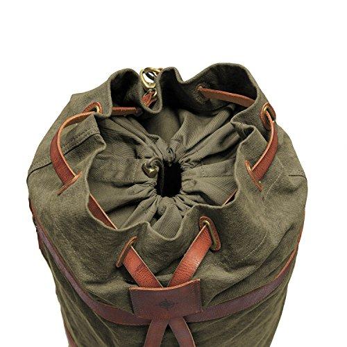 style canvas bag buffalo Bag green Duffel Green leather travel Olive olive bag sea DRAKENSBERG safari kitbag nautical Kimberley brown vIqzxSwO