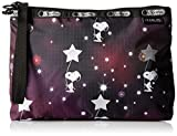 LeSportsac Peanuts X Essential Wristlet, Snoopy in the Stars