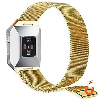 no1seller Top Fitbit bandas iónico, magnético milanese Loop ...
