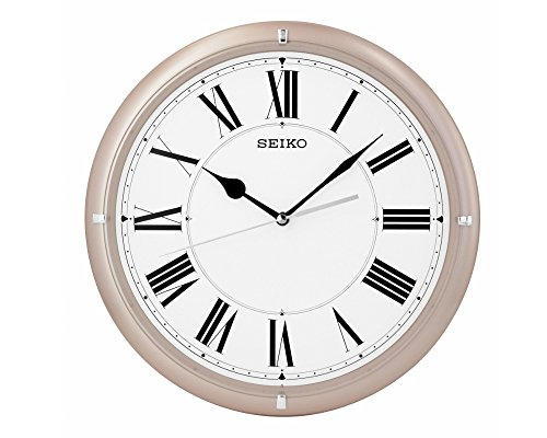 Seiko Wall Clock (31 cm x 31 cm x 4.5 cm, Beige, QXA917PN)