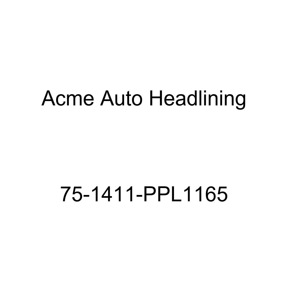 1975 Chevrolet Impala Sport 2 Door Hardtop w//o Quarter Window 5 Bow Acme Auto Headlining 75-1411-PPL1165 Black Replacement Headliner