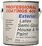 True Value ACP60-GL  PCB-Gallon  Semi Gloss Paint,  White