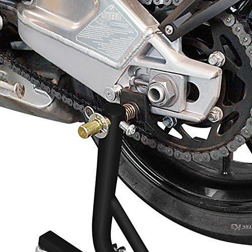 ConStands Mover II Racing Motorrad Montagest/änder Yamaha MT-09 Schwarz matt Hinten Rangierhilfe Hinterrad-St/änder Heber