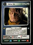 Enabran Tain Card Star Trek Deep Space Nine Collectible Card Game (CCG) Rare Cardassian Personnel Card