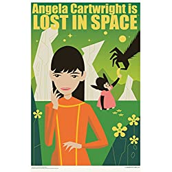 Angela Cartwright is Lost In Space by Juan Ortiz Art Print Poster 12x18
