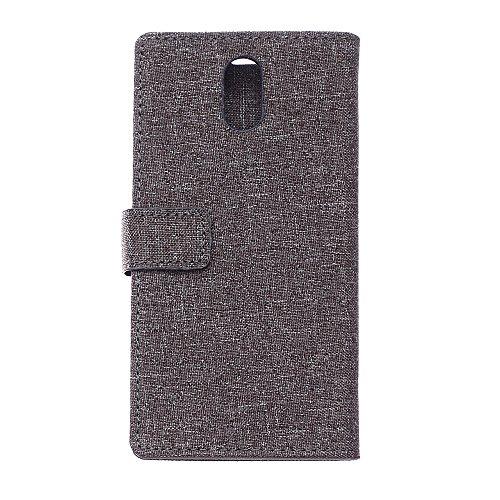 Cover Samsung Galaxy J5 (2017) J530 TOTOOSE Bark Grain Pattern PU Funda de cuero Cierre magnético Flip Stand Cover con ranuras para tarjetas Para Samsung Galaxy J5 (2017) J530 -gris