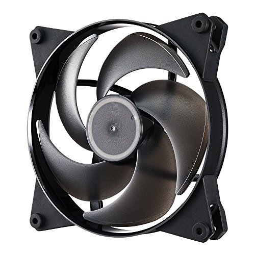 Cooler Master MasterFan Pro 140 Air Pressure with Helicopter Inspired Fan Blade, Speed Profiles, and Exclusive Silent Driver (Cooler Master Silencio Case compare prices)
