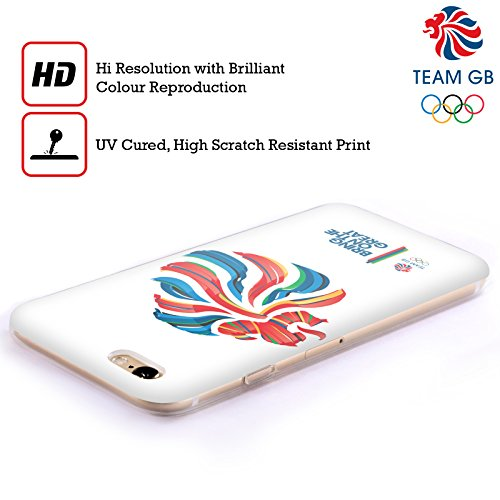 Official Team GB British Olympic Association Bahia Lion Rio Soft Gel Case for Apple iPhone 4 / 4S
